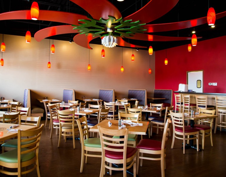 Dining Room at Bangkok Peppers – Grand Blanc